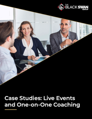 Case Studies Live Events and One-on-One Coaching