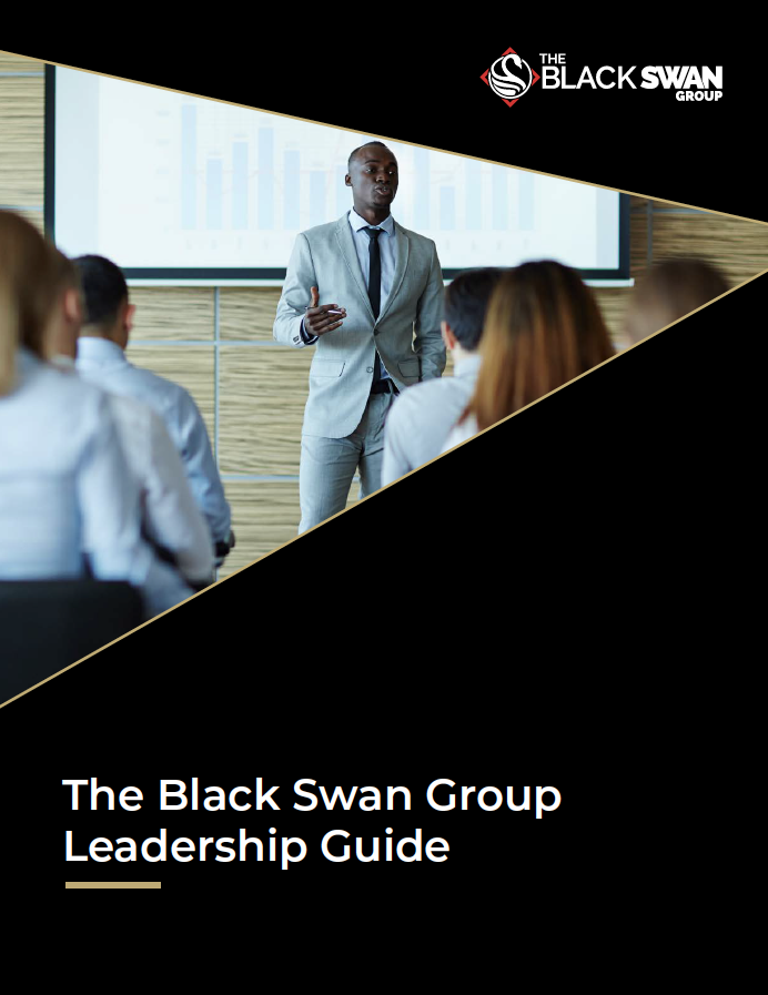 The Black Swan Group Leadership Guide Cover