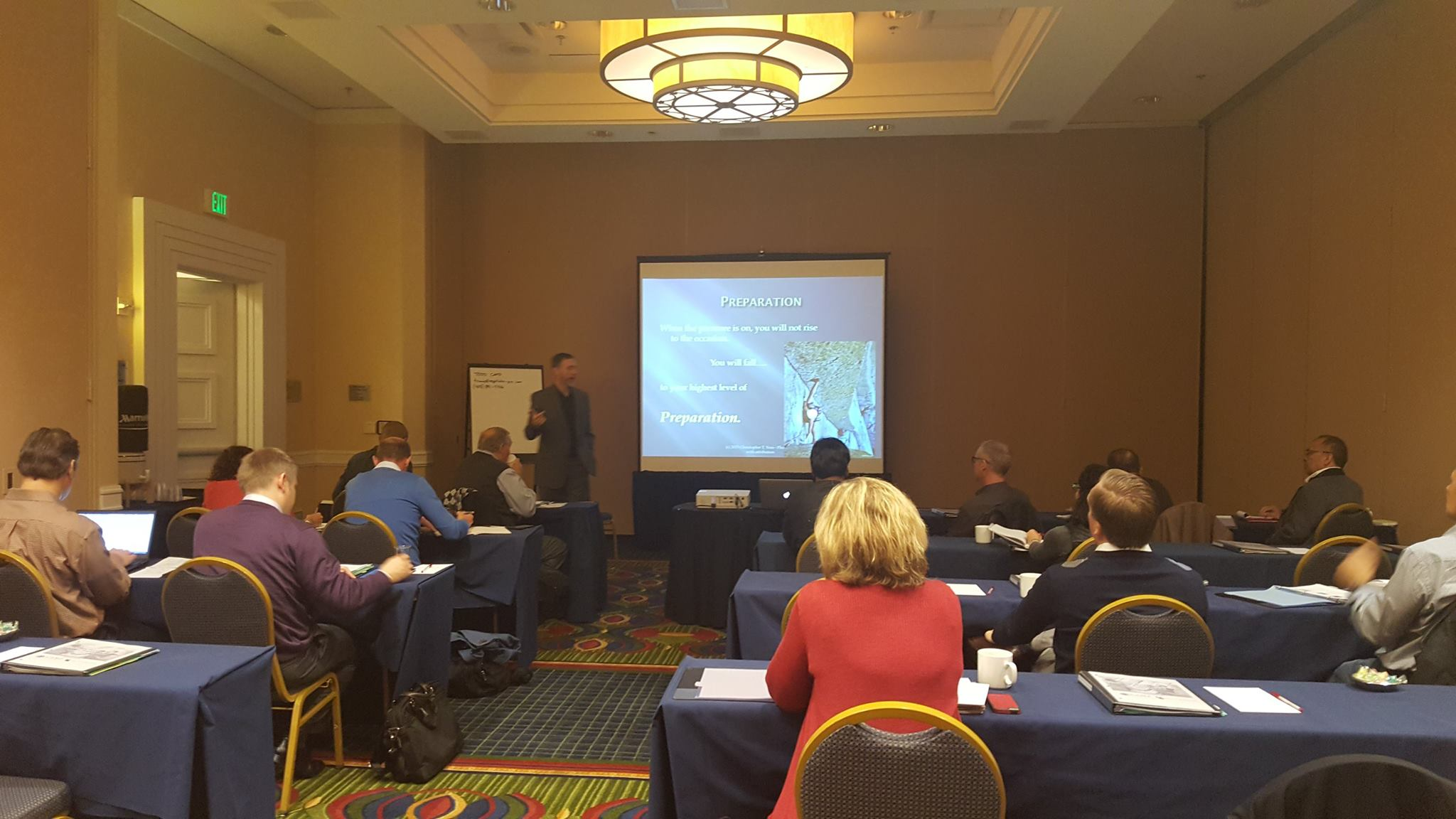 Chris Voss, live negotiation training